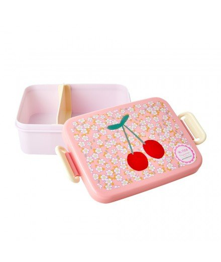 Lunchbox en mélamine - Cerises