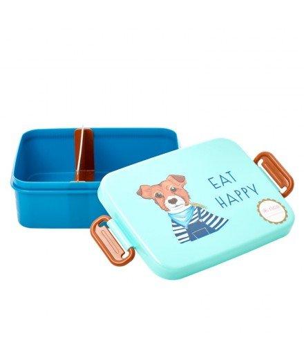 Lunchbox en mélamine - Chien