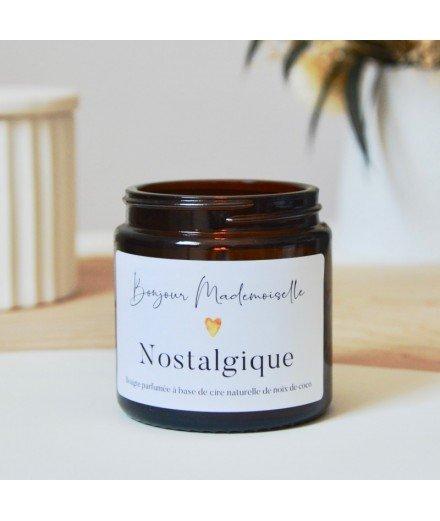 Bougie Bonjour Mademoiselle - Nostalgique