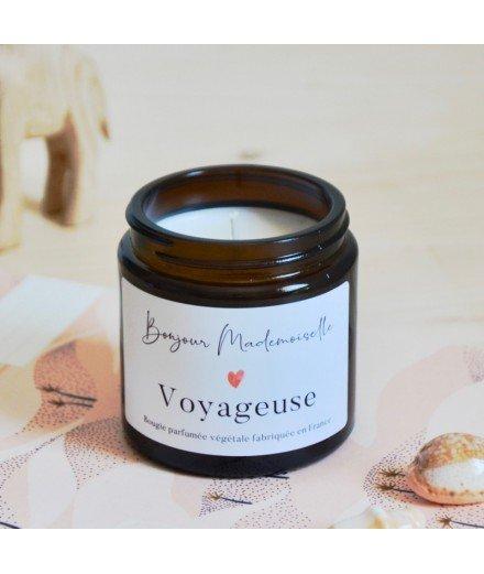 Bougie Bonjour Mademoiselle - Voyageuse