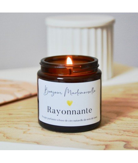 Bougie Bonjour Mademoiselle - Rayonnante