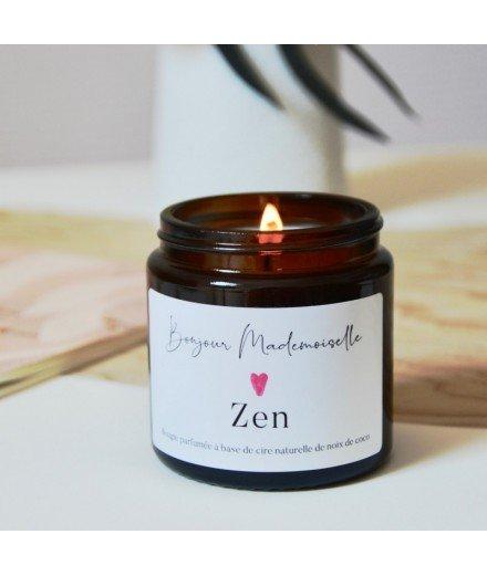 Bougie Bonjour Mademoiselle - Zen