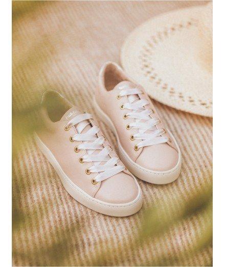 Sneakers La Satinée - Nude